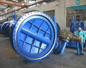 Carbon steel Worm Gear Butterfly Valve pictures & photos
