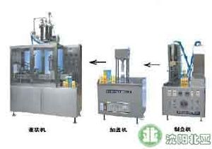 Carton Automated Liquid Filling Equipment (BW-1000-3) pictures & photos
