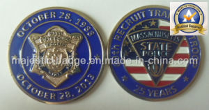 Customized Zinc Die Cast 3D Millitary Coin pictures & photos