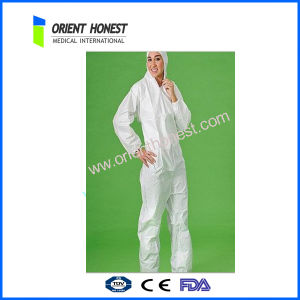 Safety Industrial Disposable PP Worker Coveralls