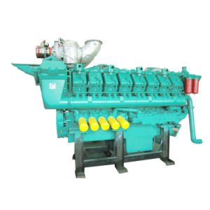 1500kw Us Googol Marine Diesel Engine with Gear Box pictures & photos