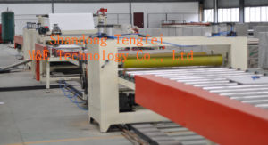 Cement Board PVC/Aluminum Foil Laminating Machine pictures & photos