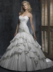 2011 New Wedding Dress and Wedding Gown (mgwd032)