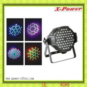 54*1/3W RGB LED Cast Aluminum PAR Can Stage Light (PL-1)