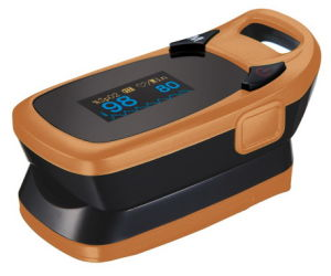 Pulse Oximeter with Alarm Function pictures & photos