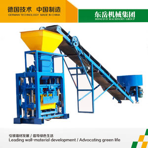 Qt40-1 Fly Ash Mobile Brick Making Machine, Concrete Block Machine pictures & photos