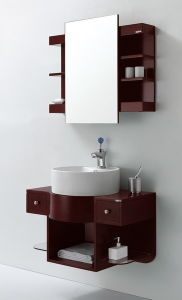 Modern Style/Bathroom Cabinet/Vanity (KA804) Without Leg