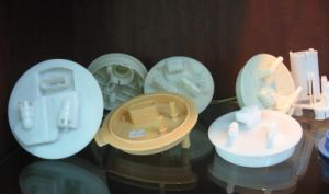 Plastic Injection Mould for Auto Oil Pump Cover (HMP-04-001) pictures & photos