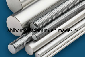 99.95% Pure Forged Molybdenum Rods for Sapphire Growing Furnace pictures & photos