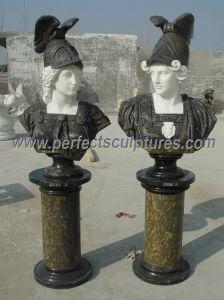 Stone Sculpture Marble Statue Head Bust for Garden Decoration (SY-S315) pictures & photos