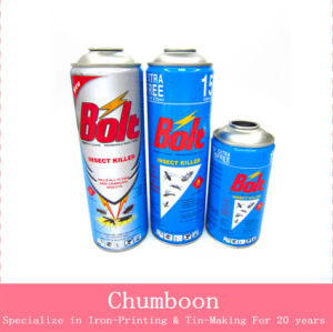 Insecticide Aerosol Tin Can
