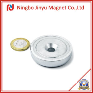 Neodymium Counter Magnets (Pot Magnets) with Hook