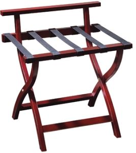 Wooden Luggage Rack with Five Belts for Guestroom (CJ-27A) pictures & photos