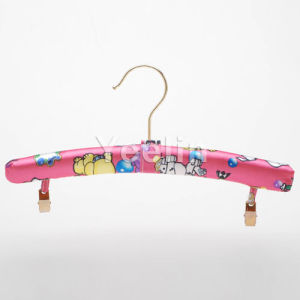 Padded Clothes Hanger with Clips for Babies (YKR03M) pictures & photos