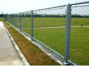 Hot Dipped Galvanized Chainlink Wire Mesh Fencing