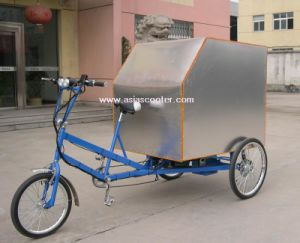 Pedal and Electric Alloy Cargo Trike pictures & photos