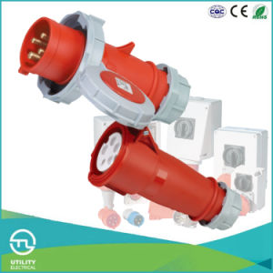 IP67 Cee/IEC Male Industrial Connector Plug International Standard pictures & photos