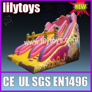 Princess children dry inflatable slide outdoor use pictures & photos