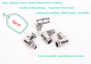 High Quality Stainless Steel Pipe Fittings with Japan Technology (SSPT10-02) pictures & photos