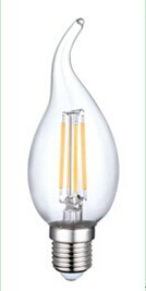 2W White Filament LED Tailed Candle LED Bulb pictures & photos