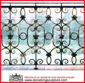 Wrought Iron Fence, Iron Railing (SK-5304) pictures & photos
