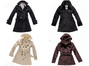 Ladies Fashion Brand Coat