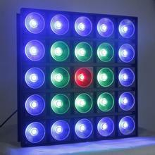 Professional 25PCS*10W RGB 3in1 LED Matrix Blinder Light pictures & photos