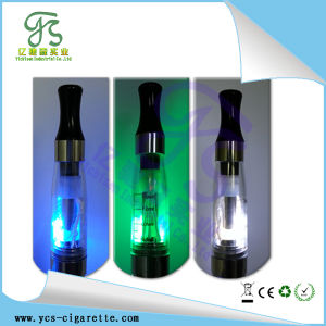 Latest Transparent CE4 LED Light up Clearomizer, Vaporizer (ECS-195)
