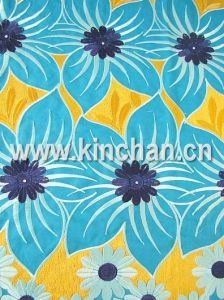 Handcut Cotton Voile Big Lace pictures & photos