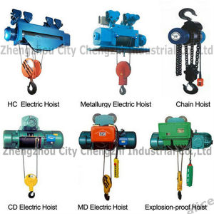 Capacity 700kg Md Wire Rope Electric Hoist pictures & photos