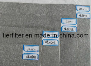 Polyester Melt Filter Sheet Media with No-Woven Fiber Felt