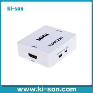 HDMI to AV Converter Supporter 1080P (KISON-H2AV)
