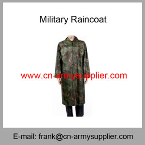 Camouflage Raincoat-Army Raincoat-Police Raincoat-Military Raincoat pictures & photos