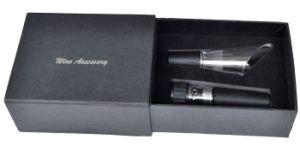 Wine Stopper & Pourer Gift Set