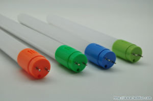 T8 Colorful End Caps LED Round Full PC Tube Housing
