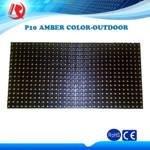 Bright Bis P10 Amber Pink Rare Minority Color LED Display Outdoor Module pictures & photos