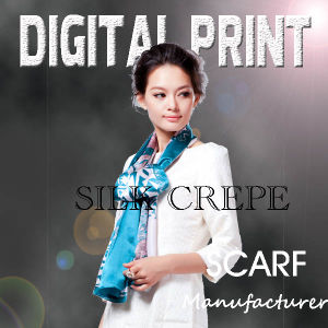 Printed Scarf with Your Own Design pictures & photos