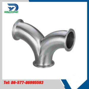 Stainless Steel Sanitary Y Type Double Elbow pictures & photos