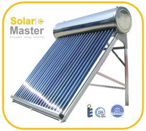 Compact Non-Pressure Solar Heater with CE