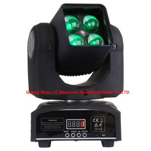 4PCS 10W RGBW 4in1 LED Moving Head Zoom Light pictures & photos