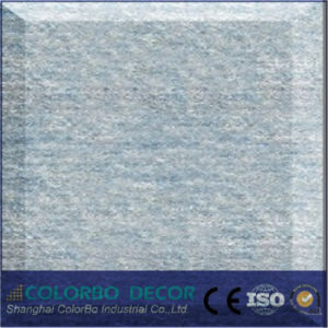 Pet Embossing Ceiling Board, Swell Polyester Fiber Acoustic Panel pictures & photos