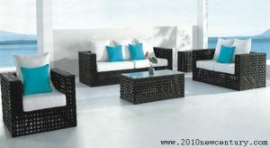 Outdoor / Garden / Patio / Rattan Sofa (NC6060) pictures & photos