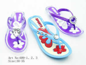 Children′s Jelly Slipper (689)