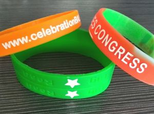 Silicone Wriststrap Customized Logo Available (OM-S33) pictures & photos