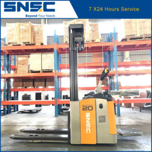 China Quality 2.0tons Electric Stacker Price pictures & photos