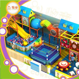 High Quality Children Plastic Playground House pictures & photos
