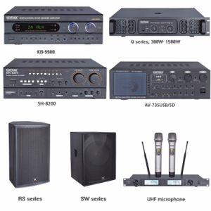 Fashion Design 180watt Power Mixer Professional Amplifier pictures & photos