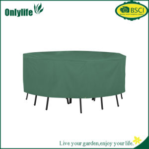 Customized Classic Accessories Atrium Rectangular Patio Set Table Cover pictures & photos