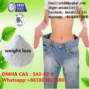 Weight Loss 2-Amino-6-Methylheptane Supplement Dmha 99% 1, 5-Dimethyl-Hexylamin CAS: 543-82-8 pictures & photos
