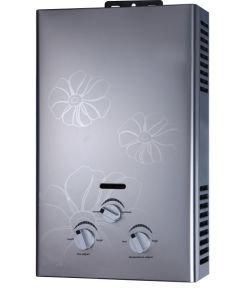 Gas Water Heater with Double Ignition Pin Ideal for Shower and Clean